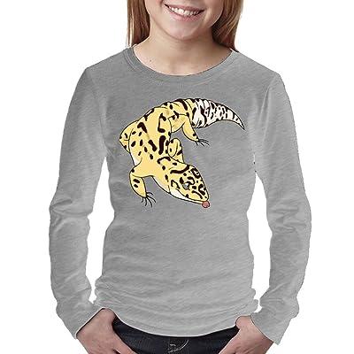 08&FD0 Leopard Gecko Unisex-Child Long Sleeve Tshirts