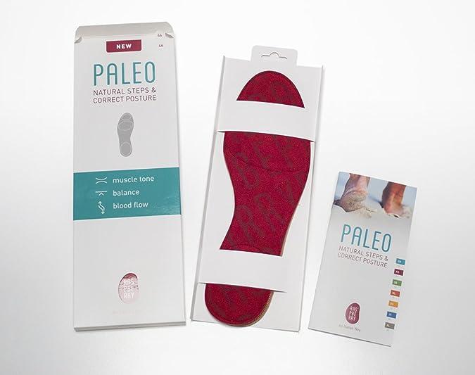 Raspberry - Paleo Natural Steps & Correct Posture - Semelle À Microsphères Travaillant Sur La Tonicité Musculaire, La Posture Et La Circulation - Pointure 45