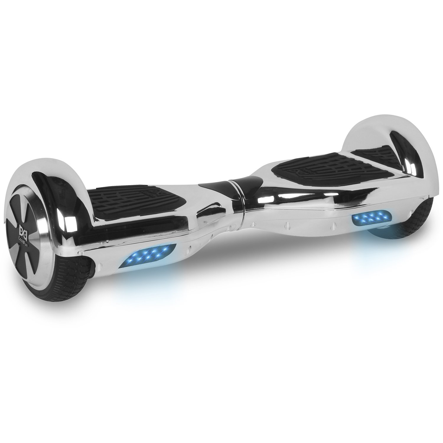 Cool Fun Hoverboard Patinete Eléctrico Scooter talla  de Shop Gyrogeek Plata