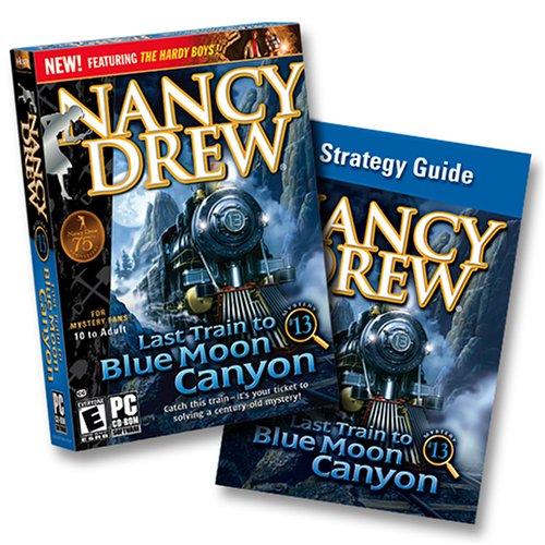 Nancy Drew: Last Train to Blue Moon Canyon Game + Strategy Guide (輸入版) B000E59GJW Parent