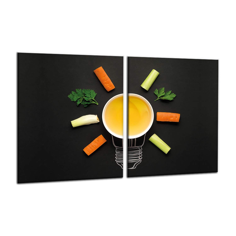 Protezione da fornelli e fornelli Copri Piano Cottura in vetroceramica per fornelli a induzione Dekorwelt 2x40x52 cm