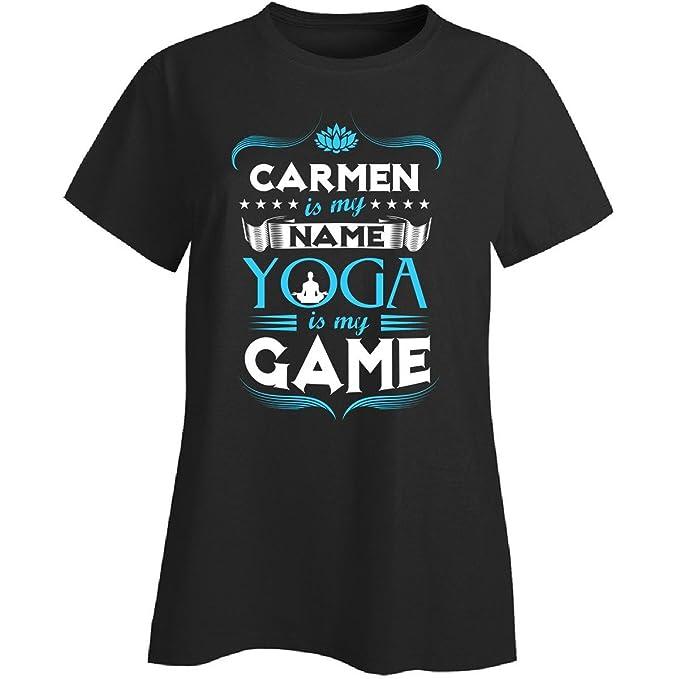 Amazon.com: Carmen My First Name Yoga My Game Yoga Teacher ...