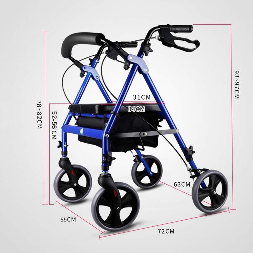 FFLSDR Trolley Walker Mayor generación de Edad Avanzada ...