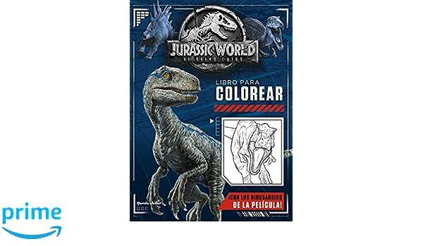 Jurassic World. El reino caído. Libro para colorear: Amazon.es: Universal Studios: Libros