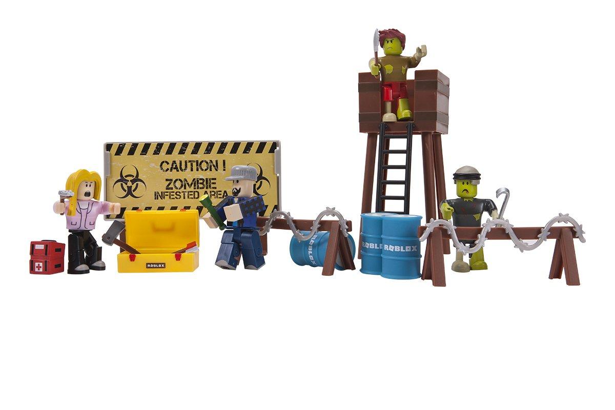 Juguete figura Roblox zombie muñeco game pack