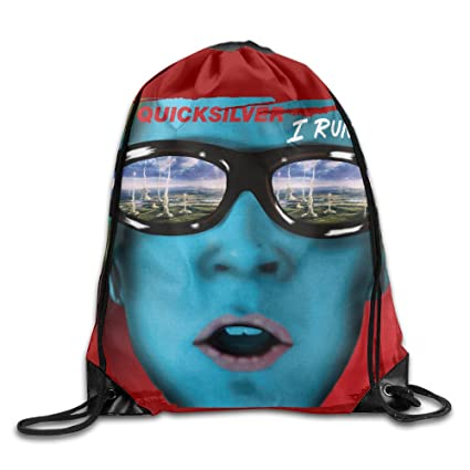 07124f4fa6 Amazon.com: X-Men: Apocalypse Quicksilver I Run Poster Basic Training Drawstring  Backpack: Sports & Outdoors