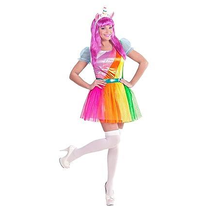 NET TOYS Disfraz Mujer Unicornio - M (ES 40/42) | Vestido ...
