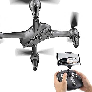 JRhong RC Drone RC Helicóptero Fotografía aérea de Alta definición ...
