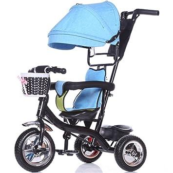 Bicicleta para niños Niño de interior al aire libre Pequeño triciclo bicicleta Niño de la bicicleta