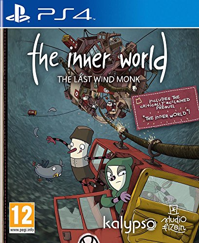 Price comparison product image PS4 The Inner World the Last Wind Monk (EU)