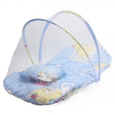 Mosquitera para bebé, newyoudirect plegable infantil saco de dormir repelente de insectos Red