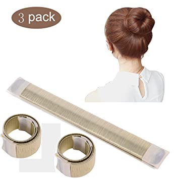 Amazon Oshide Women Hair Style Tool Hair Donut Bun Maker