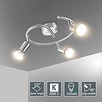 Bojim Lámpara de techo LED Plafón con Focos