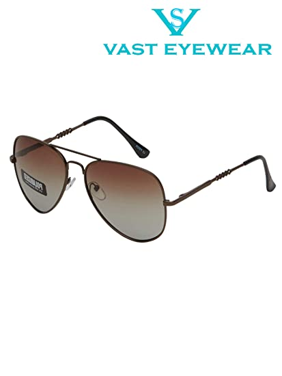 e143a084b7 Vast Polar Vision Polarized Aviator Unisex Sunglasses (Polo5026 ...