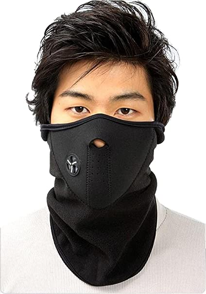 SLTY Unisex Ski Mask Neoprene Face Mask Cold Weather Outdoor Face Mask for  Motorcycles 856e5688efbb