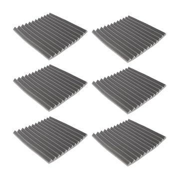 MagiDeal 6 Piezas Panel de Espuma Acústica de Estudio Accesorios Forma de Triangular