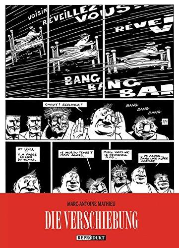 Julius Corentin Acquefaques, Gefangener der Träume / Die Verschiebung Taschenbuch – 1. März 2015 Marc-Antoine Mathieu Martin Budde Reprodukt 3956400208