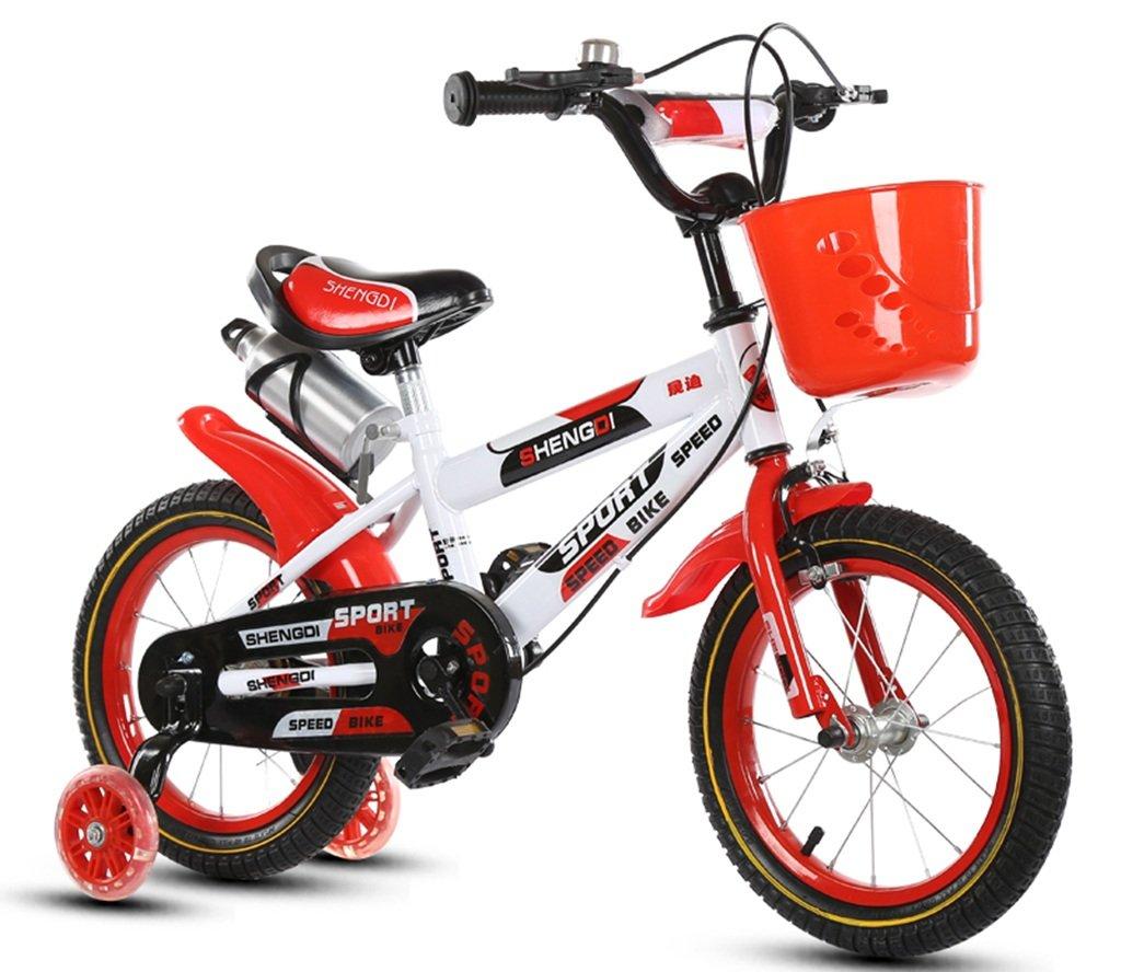 QFF 軽量自転車、男の子、女の子自転車自転車小児用パーソナル自転車2-10歳の赤ちゃん補助ホイール自転車88-121CM ZRJ (色 : B, サイズ さいず : 100CM) B07DNWXY5Q 100CM|B B 100CM