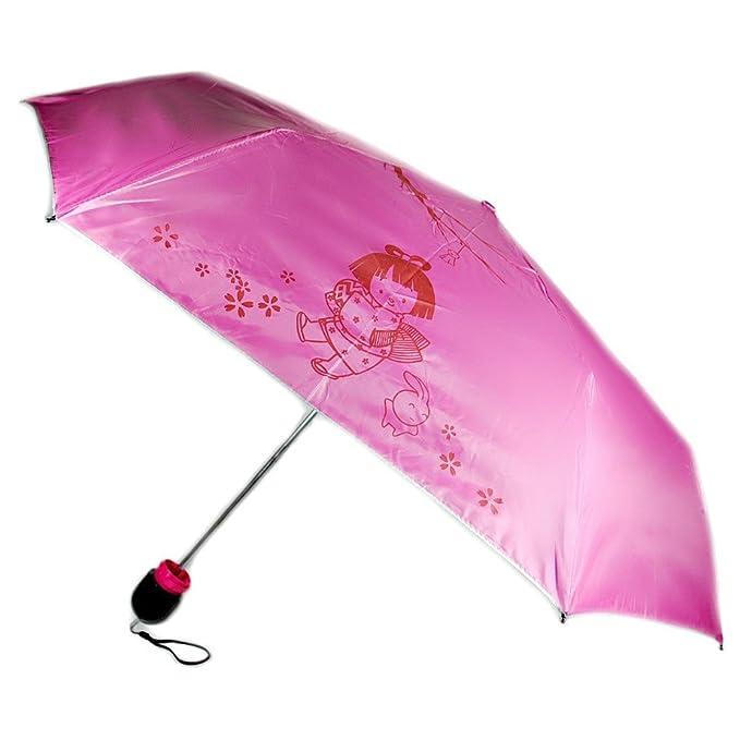 Amazon.com : Hot Pink Kokeshi Doll Umbrella w Hard Case : Garden & Outdoor