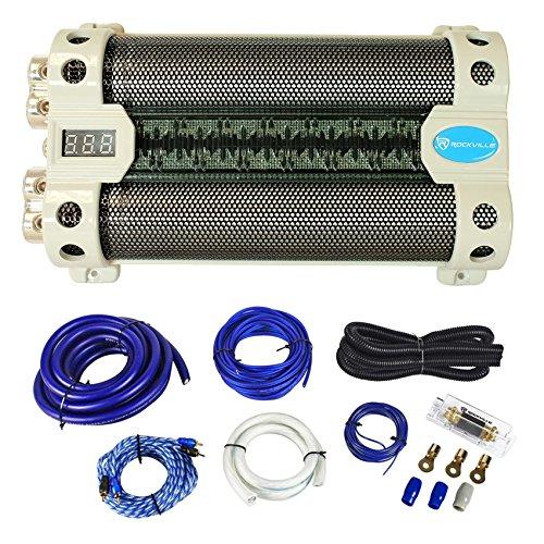Rockville RFC30F 30 Farad Capacitor Voltage Display+Amp ()