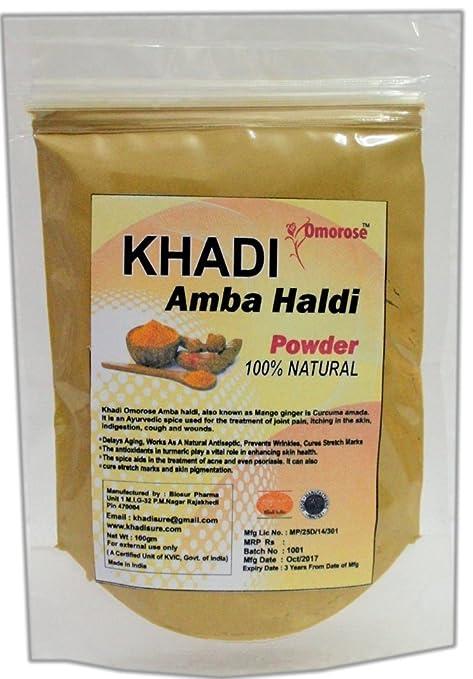 KHADI Omorose Amba Haldi Powder, 100g