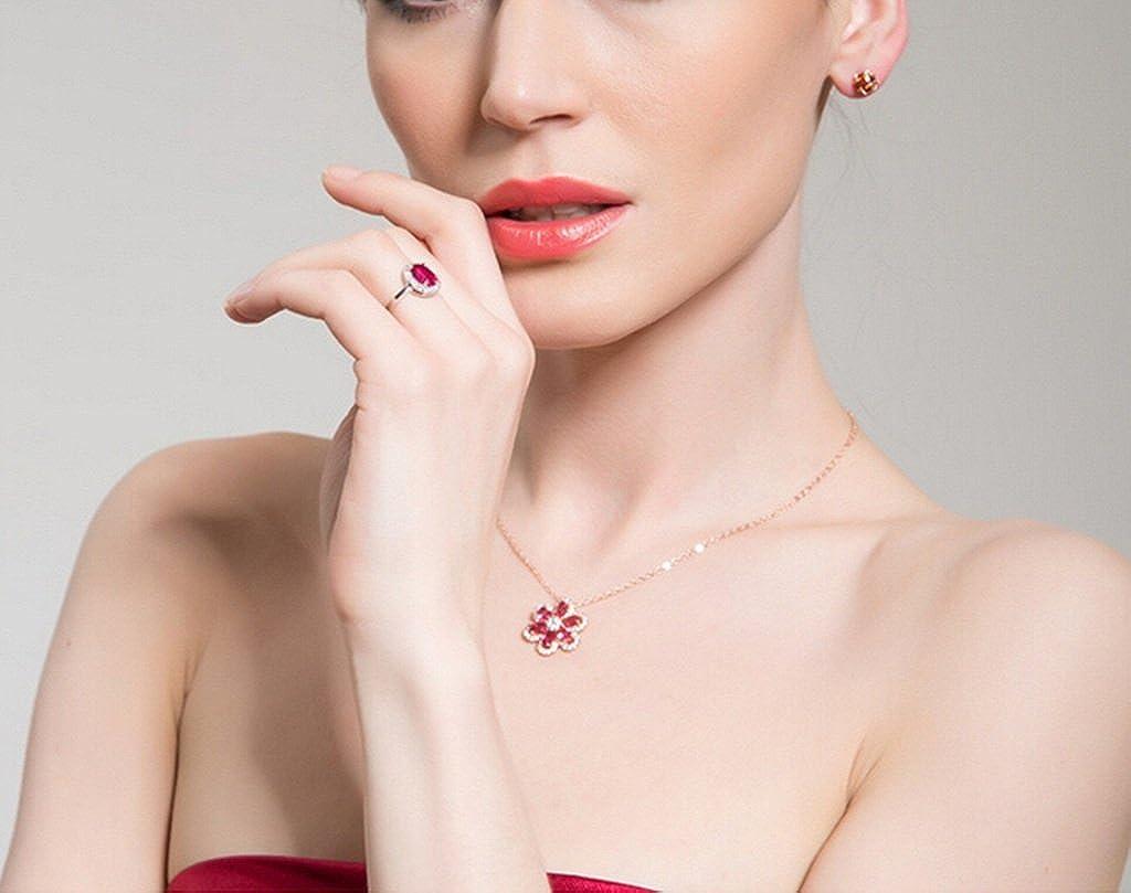 KnSam Women Gold Plate Pierced Stud Earrings Cube Bead Crystal Rhinestone 3 Tones Novelty Earrings
