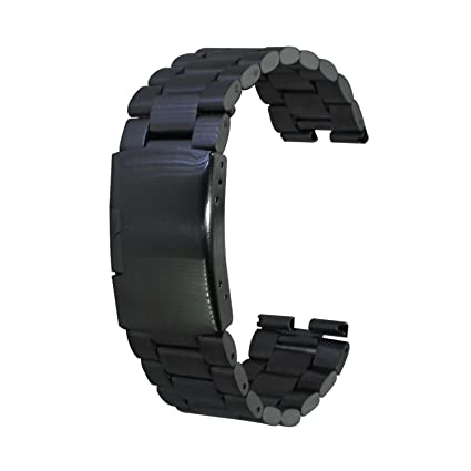 Amazon.com: xiemin 22 mm Acero Inoxidable Pulsera Reloj ...