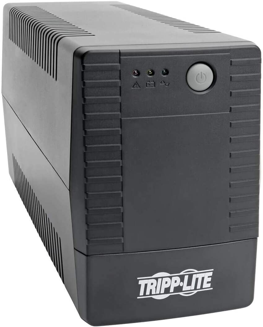 Tripp Lite UPS Desktop 650VA 360W AVR Battery Back Up Compact 120V 6 Outlet (VS650T)