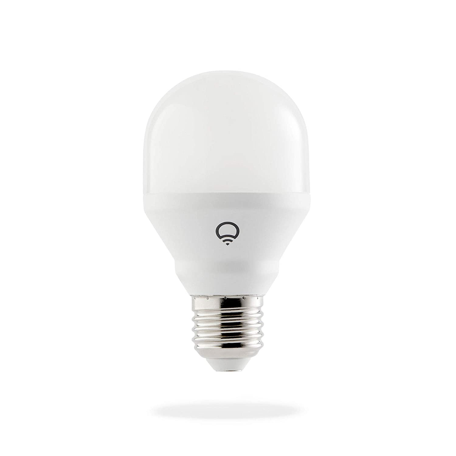 Latest Generation LIFX L3A19MW06E26 Mini No Hub Required Works with Alexa Dimmable The Google Assistant /& Microsoft Cortana Wi-Fi Smart Led Light Bulb 1 Pack Warm White Apple Home Kit A19