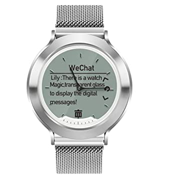 YOun Fitness Trackers, M6 50 m impermeable reloj inteligente ritmo cardíaco monitor de sueño Bluetooth