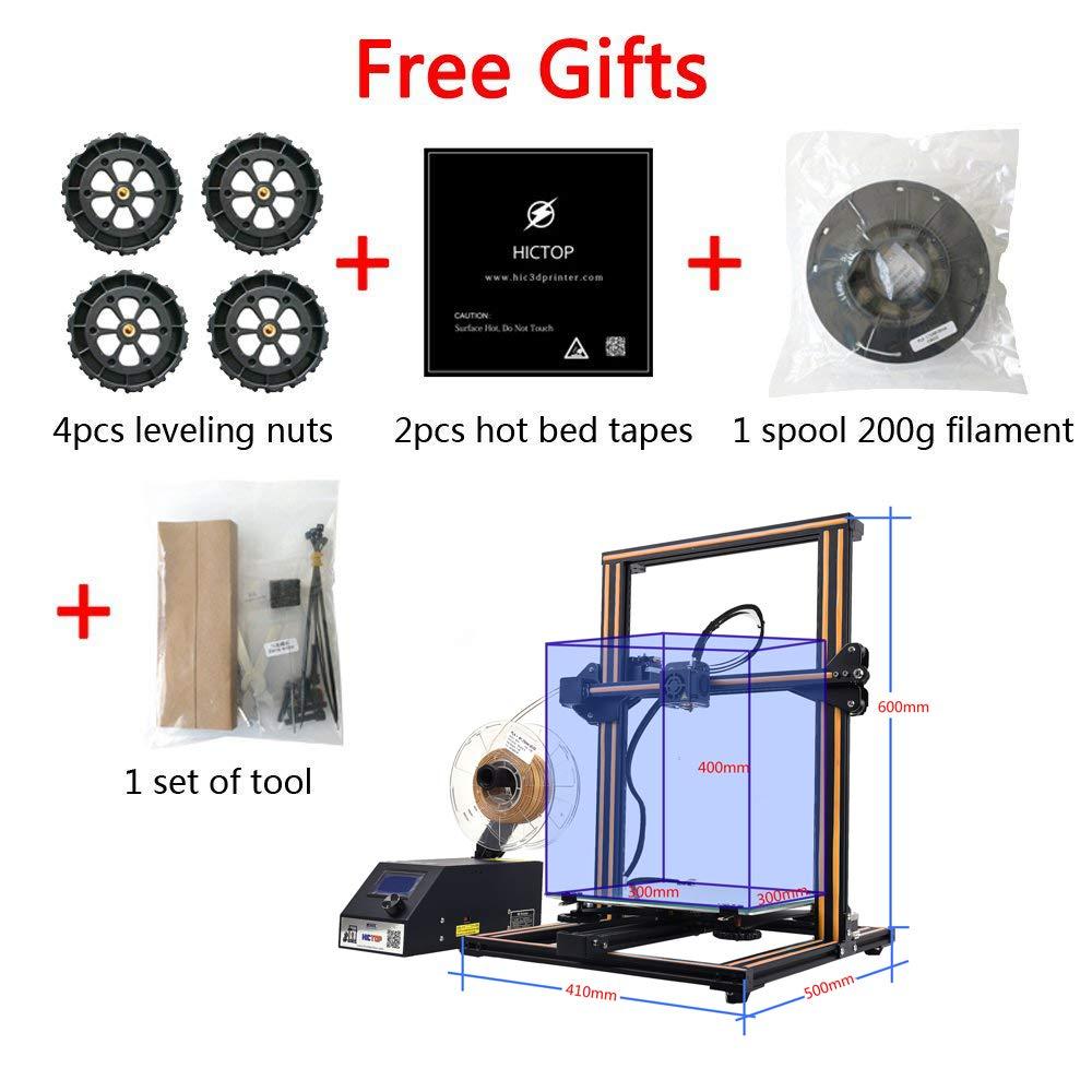Creality CR-10S 3D Printer HICTOP - Varillas de rosca para monitor ...