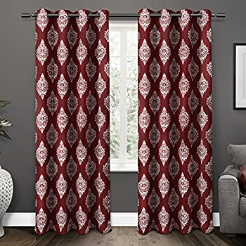 Amazon Com Exclusive Home Curtains Watford Distressed