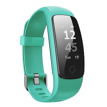 Montre Connectée, Ausun 107HR Plus Bracelet Connecté Fitness tracker IP67 étanche avec Cardiofréquencemètre, Montre