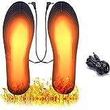 ASANMU Plantillas Calefactables USB, 2020 Nuevo Plantillas de Zapatos con Calefacción Calentadores de Pies Impermeables…