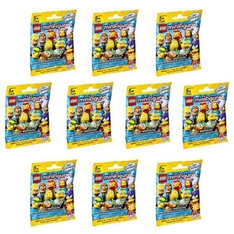 10 Packs LEGO Minifigures The Simpsons Series 2 (71009) Building Kit]()