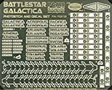 Paragrafix Battlestar Galactica Model Photoetch and Decal Set PGX133