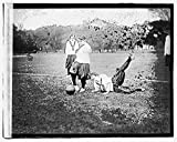 Vintography 16 x 20 Reprinted Old Photo ofGirls soccer 1919 National Photo Co 51a