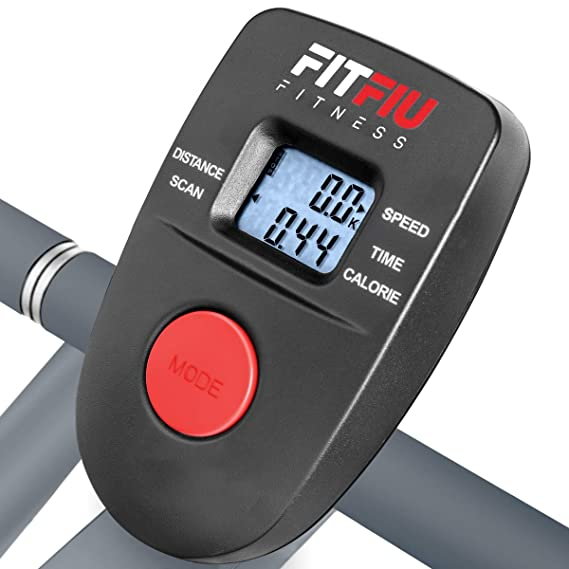 Fitfiu - BELI120 Bicicleta elíptica multifunción con pantalla LCD ...