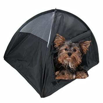 NEW Small Pop Up C&ing Tent 14 Inch Black Nylon DOG Puppy Pet Cat Bed  sc 1 st  Amazon.com & Amazon.com : NEW Small Pop Up Camping Tent 14 Inch Black Nylon DOG ...
