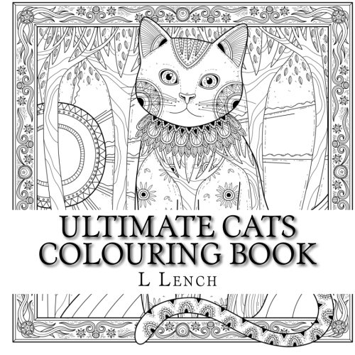 Ultimate Cats Colouring Book Big Little Amazoncouk