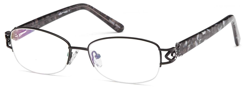 Amazon.com: Women\'s Square Black Glasses Frames Prescription ...