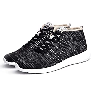LUCKY-U Zapatos para Correr para Hombres, Zapatillas de Deporte para Entrenamiento físico Zapatillas