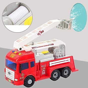 Feuerwehrauto Holz Auto Fahrzeug Feuerwehr Spielzeugauto Feuerwehrmann Laster