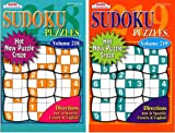 KAPPA Sudoku Puzzles Book (2 Volumes/Books) Digest Size