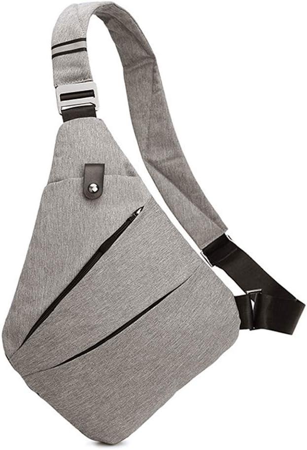 Bandolera Ovecat, cruzada al hombro, por el pecho o la espalda, mochila antirrobo, para hombre y mujer