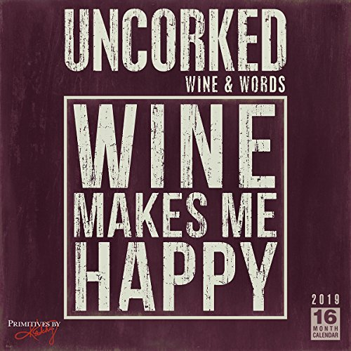 Uncorked Wine & Words 2019 Calendar
