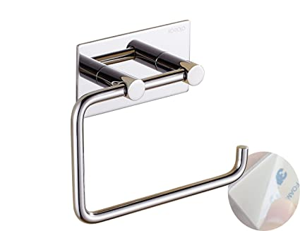 Toilet Paper Holder : Xogolo self adhesive toilet paper holder wall mount sus