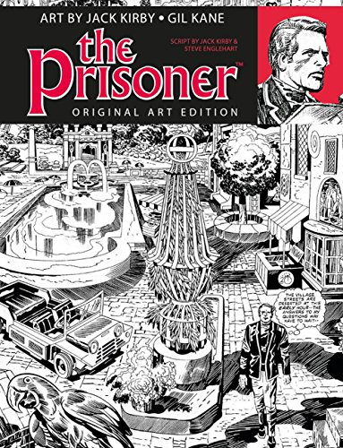 The Prisoner Jack Kirby Gil Kane Art Edition, used for sale  Delivered anywhere in USA