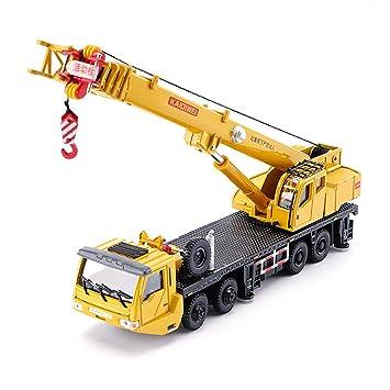 Amazon KDW 155 Scale Diecast Mega Lifter Crane Construction Vehicle Cars Model Toys Games