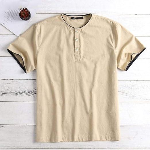 CSDM Camisa de Hombre Camisas para Hombres Camisetas para Hombre ...